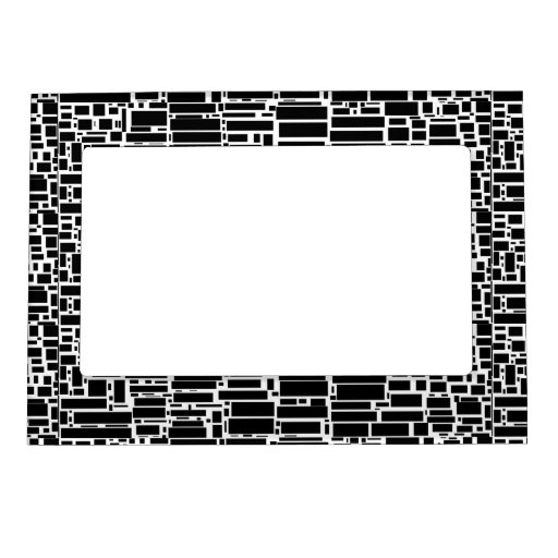 Geo 10 marcos geométricos blancos y negros marcos magneticos para fotos