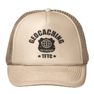 Geocaching Award 100 Caches Gorras De Camionero