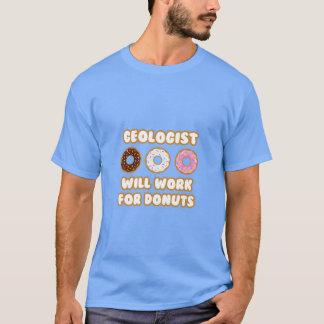 Geólogo. Trabajará para los anillos de espuma Camiseta