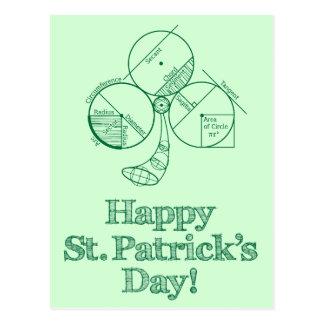 Geometría del día de St Patrick Postal