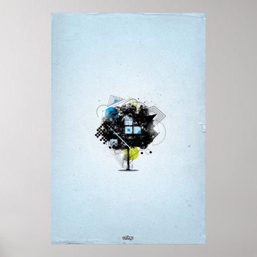Geometría natural poster