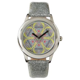 "Geometría sagrada ""princesa"" reloj en marzo"