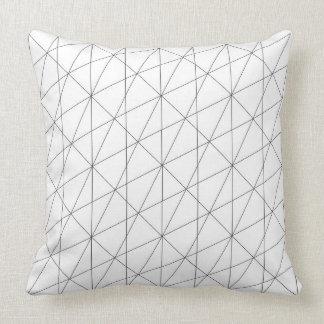 geometría sagrada una cojín decorativo