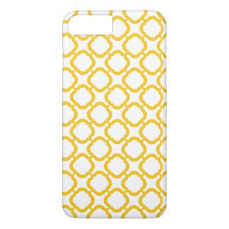 Geométrico amarillo funda iPhone 7 plus
