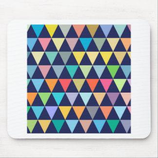 Geométrico colorido alfombrilla de ratón