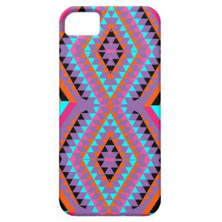 Geométrico colorido brillante moderno modelado funda para iPhone SE/5/5s