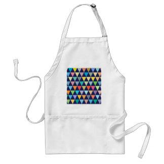 Geométrico colorido delantal