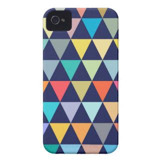 Geométrico colorido funda para iPhone 4
