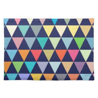Geométrico colorido salvamanteles