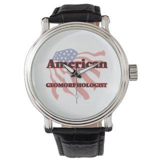 Geomorphologist americano reloj de mano