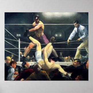 George Bellows Dempsey y arte de Firpo del boxeo