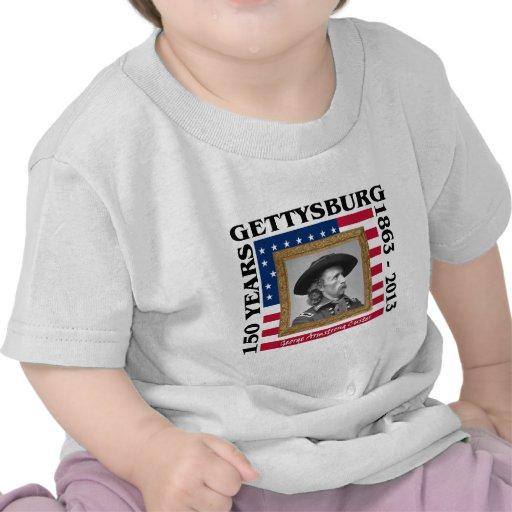 George Custer - 150o aniversario Gettysburg Camiseta