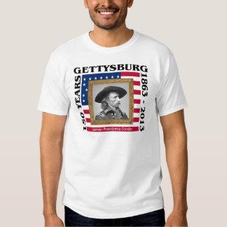 George Custer - 150o aniversario Gettysburg Camisetas