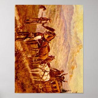 George Ives, camino Agent', Olaf C_Art de América Póster