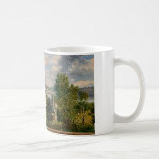 George Loring Brown - paisaje de Nueva Inglaterra Taza De Café