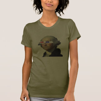 George Washington en 3D Camisetas