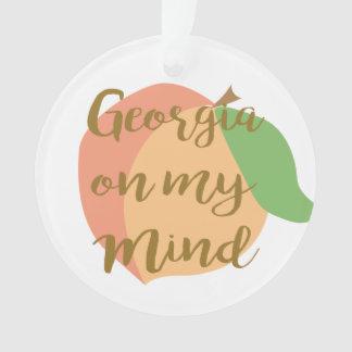 Georgia en mi ornamento de la mente