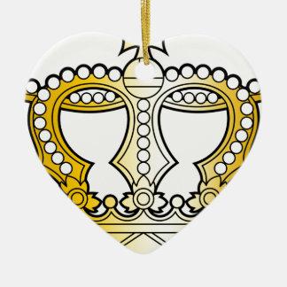 Georgian_golden_crown_with_pearls_and_cross Adorno De Cerámica