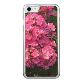 Geranios rosados funda para iPhone 8/7 de carved