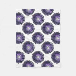 Gerbera púrpura de la lluvia manta polar