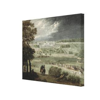 Germán-en-Laye del St. del del Castillo francés-Ne Impresiones En Lienzo Estiradas