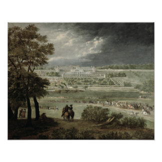 Germán-en-Laye del St. del del Castillo francés-Ne Póster