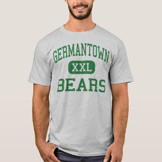Germantown - osos - alto - Philadelphia Camiseta