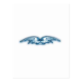 gesicht flügel face wings tarjetas postales