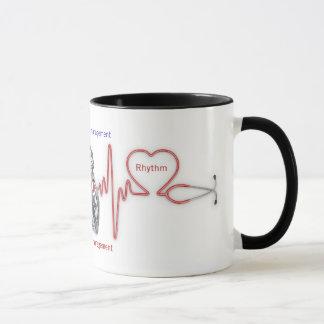 gestión cardiaca del ritmo: Taza del RITMO del