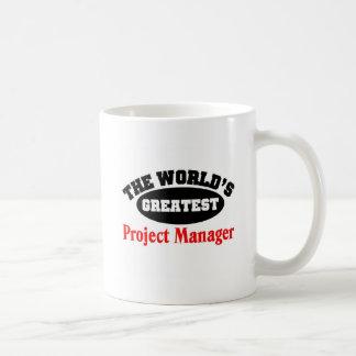 Gestor de proyecto taza de café