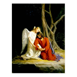 Gethsemane. Postales de la bella arte