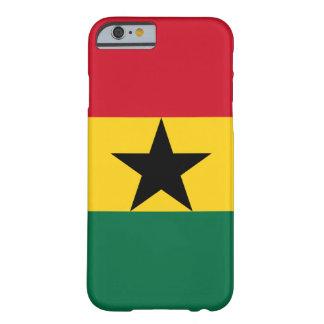 Ghana - bandera ghanesa funda de iPhone 6 barely there