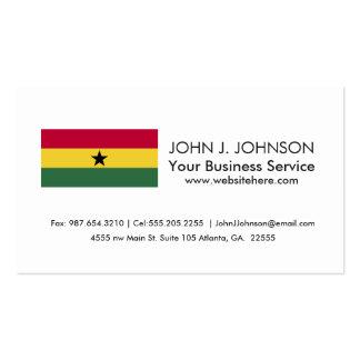 Ghana Tarjetas De Visita