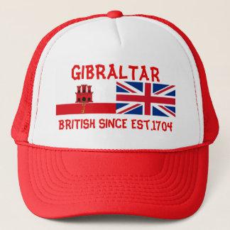 Gibraltar Británicos desde el gorra de los
