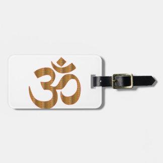 GIF del Hinduism del canto de la meditación de la Etiqueta Para Maletas