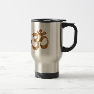GIF del Hinduism del canto de la meditación de la Taza De Viaje De Acero Inoxidable