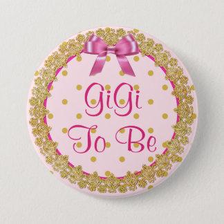 Gigi a ser botón rosado y del oro de la fiesta de