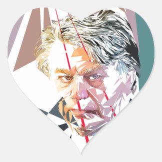 Gilbert Collard Pegatina En Forma De Corazón