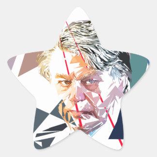 Gilbert Collard Pegatina En Forma De Estrella