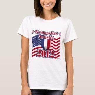 Gimnasia 2012 artística camiseta