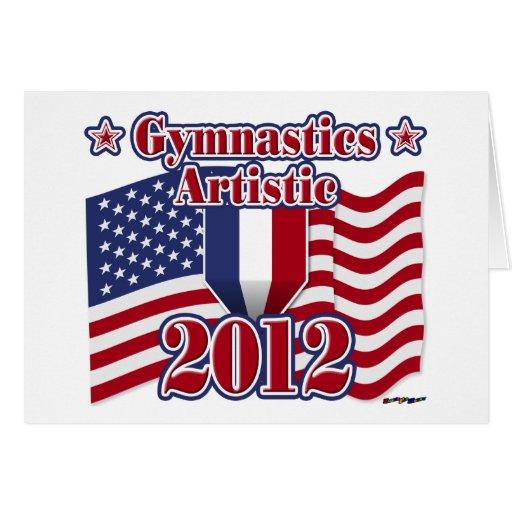 Gimnasia 2012 artística tarjetas