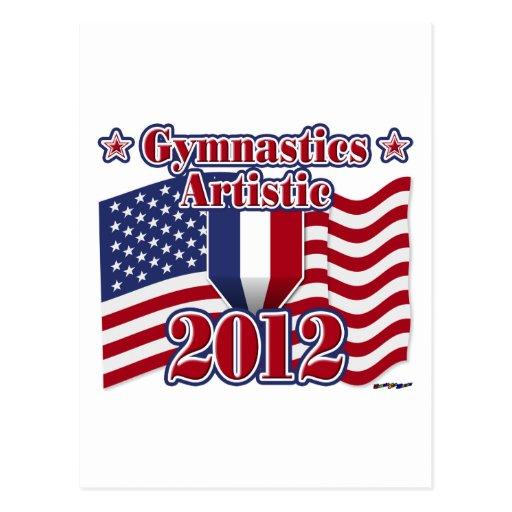Gimnasia 2012 artística postal