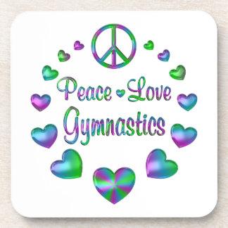 Gimnasia del amor de la paz apoyavasos