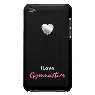 Gimnasia linda iPod Case-Mate protector