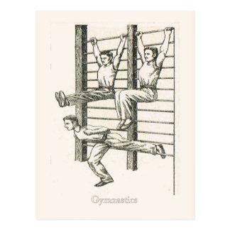 Gimnasia y ejercicio 2 postales