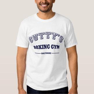 Gimnasio del boxeo del Cutty (el alambre) Camisas