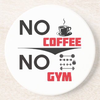 gimnasio del café portavasos