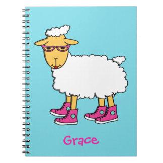 Ginny el cuaderno de las ovejas