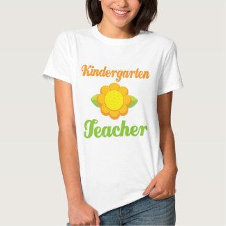 Girasol del maestro de jardín de infancia camiseta