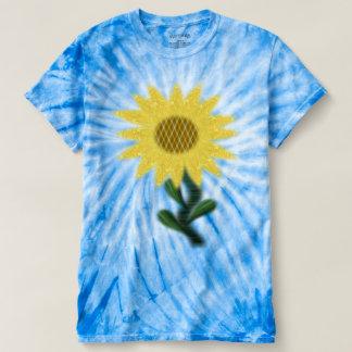 Girasol del remiendo camiseta